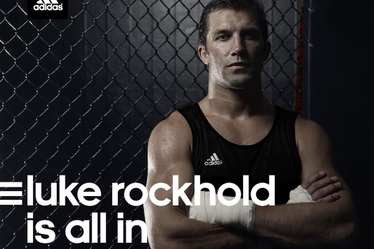 separation shoes 06181 b19ce Adidas announces partnership with UFC middleweight Luke Rockhold
