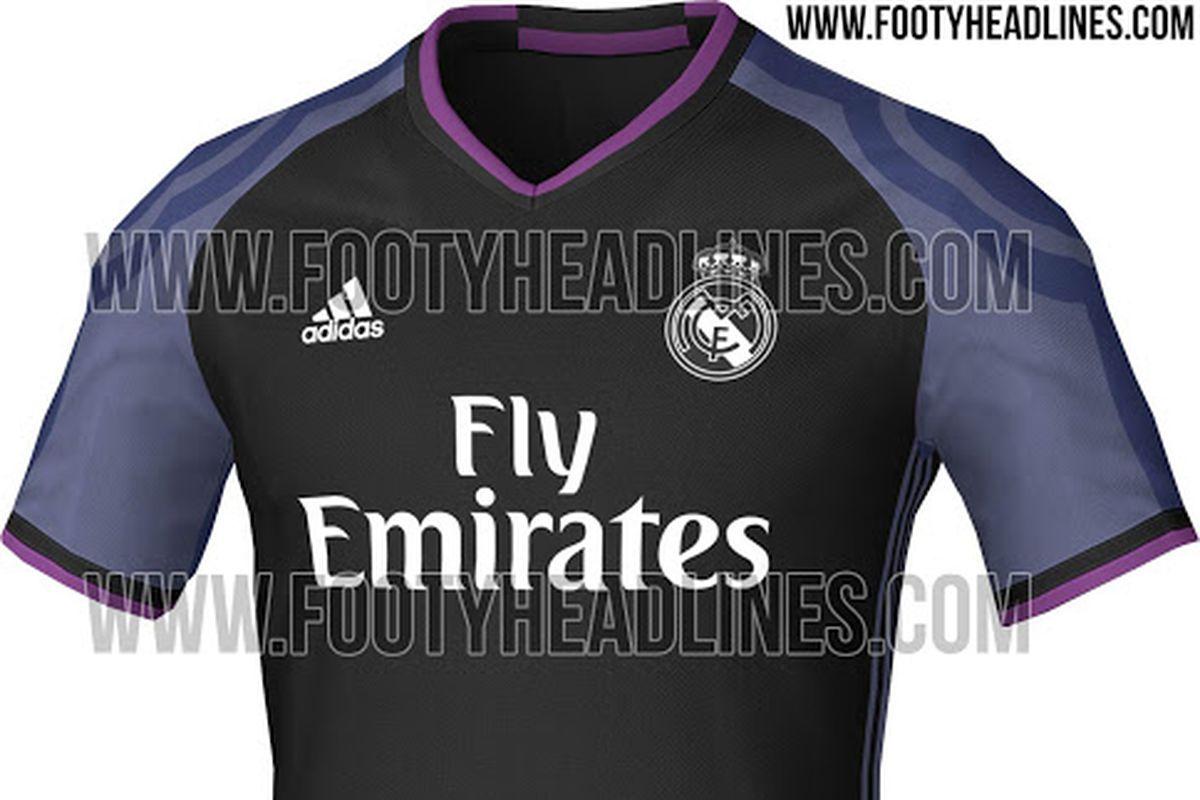 373082def6f Real Madrid's 16-17 third kit leaked - Managing Madrid