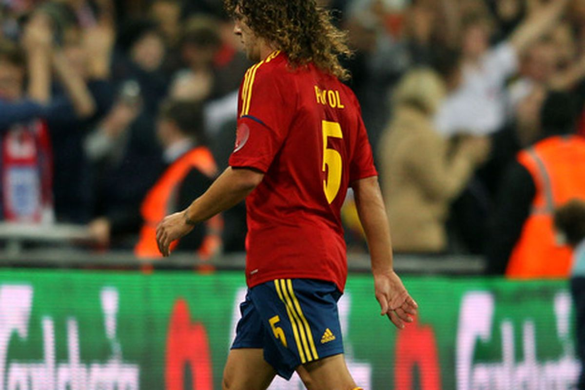 Carles Puyol is not walking out on La Furia Roja just yet.