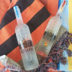 Belvedere Vodka kept our thirst quenched.