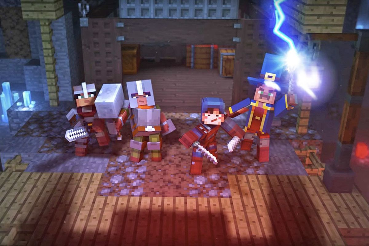 Minecraft Dungeons is simple, Diablo-inspired fun for the ...