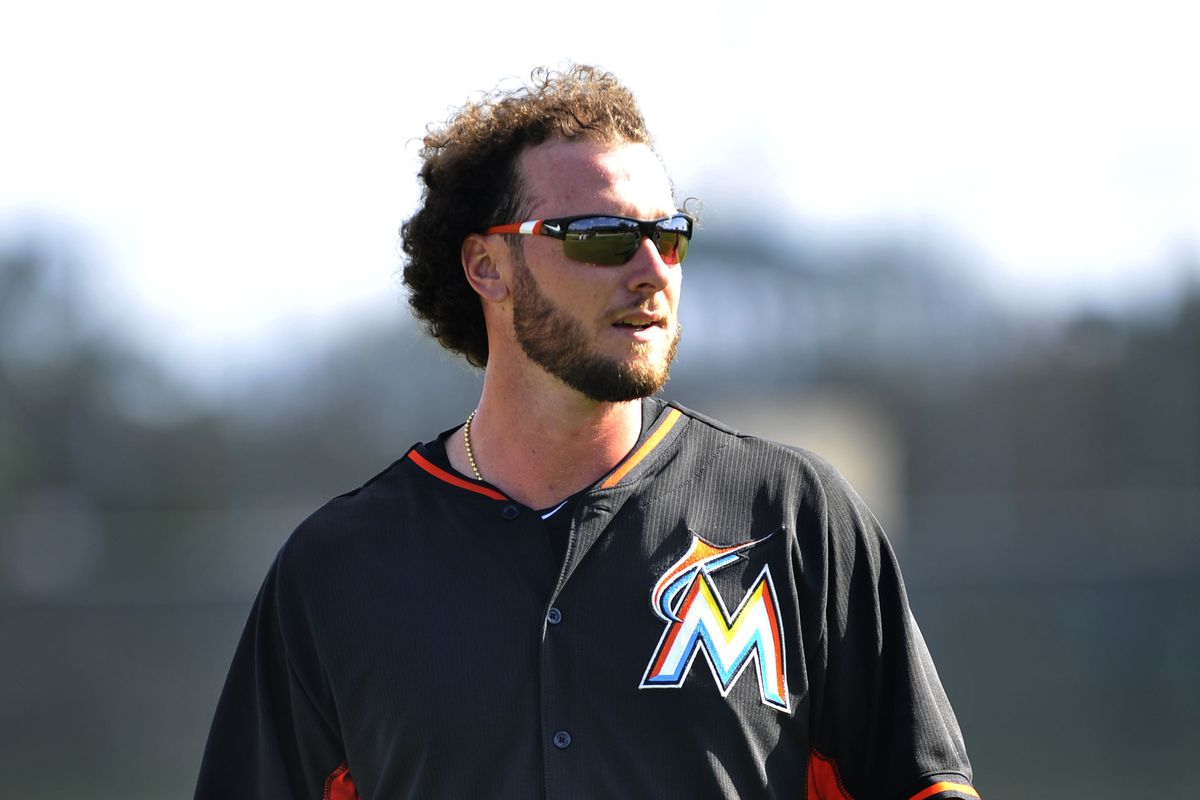 Jarrod Saltalamacchia and the rest of the Marlins can loosen up on their facial hair this season.