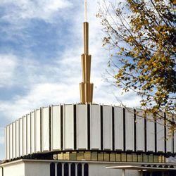 The original Ogden Utah Temple was dedicated in 1972.