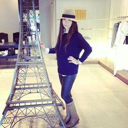 Mlle Mademoiselle's gorgeous designer, Kaya B.