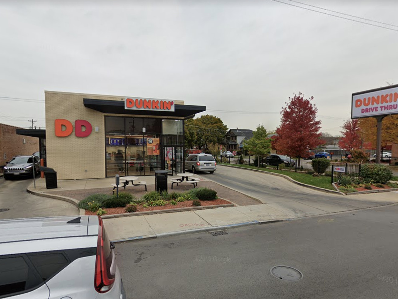 A Dunkin' employee allegedly spit in a state trooper's cup July 30, 2020, at the location at 6738 W. Archer Ave.