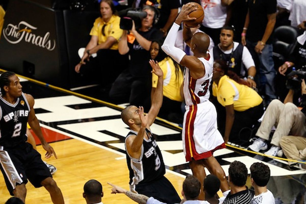 The crazy finish to Game 6 of the 2013 NBA Finals is crazier than you think - Hot Hot Hoops