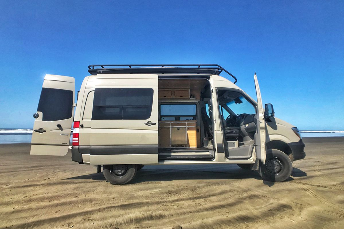Ford F250 8 Foot Bed For Sale >> DIY camper van: Elegant bamboo kits cost just $18K - Curbed