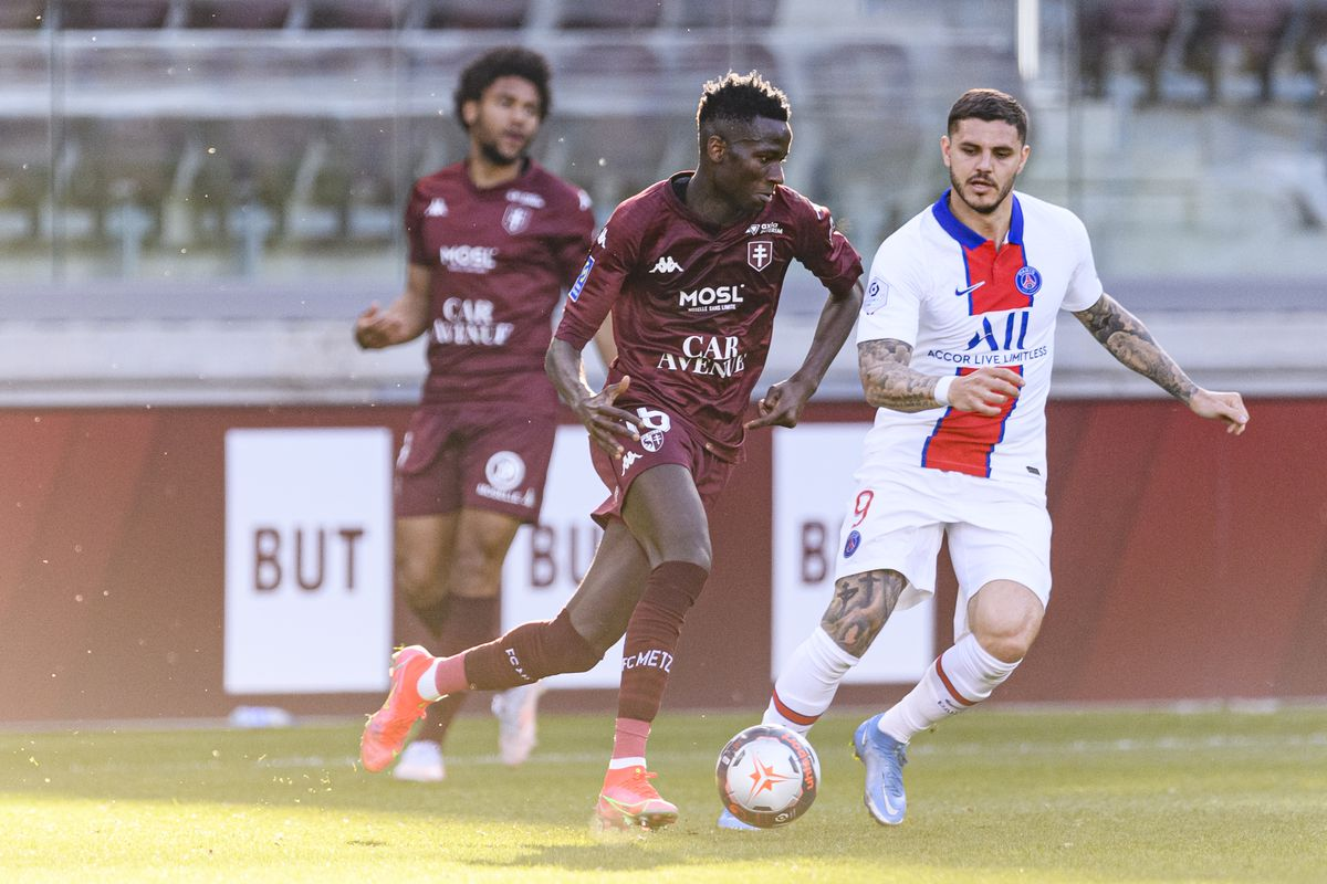 FC Metz v Paris Saint-Germain - Ligue 1 Uber Eats