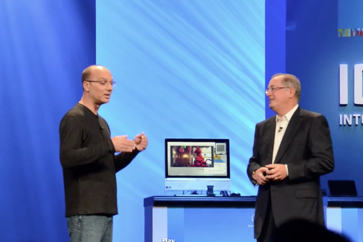 Andy Rubin announces Android will be Intel Optimized