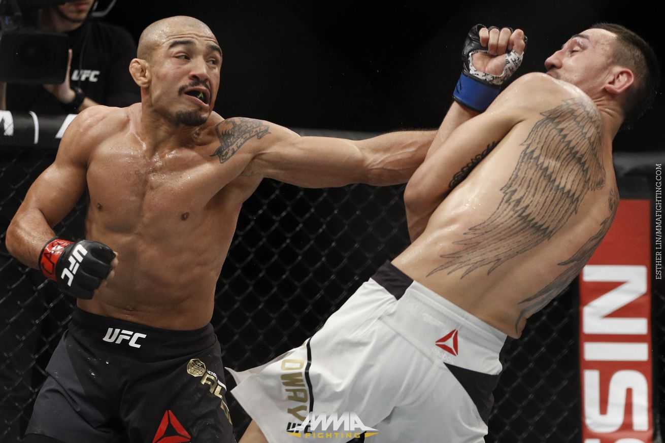 Jose Aldo rules out moving up to lightweight, says Max Holloway, not Conor McGregor, is the true champion