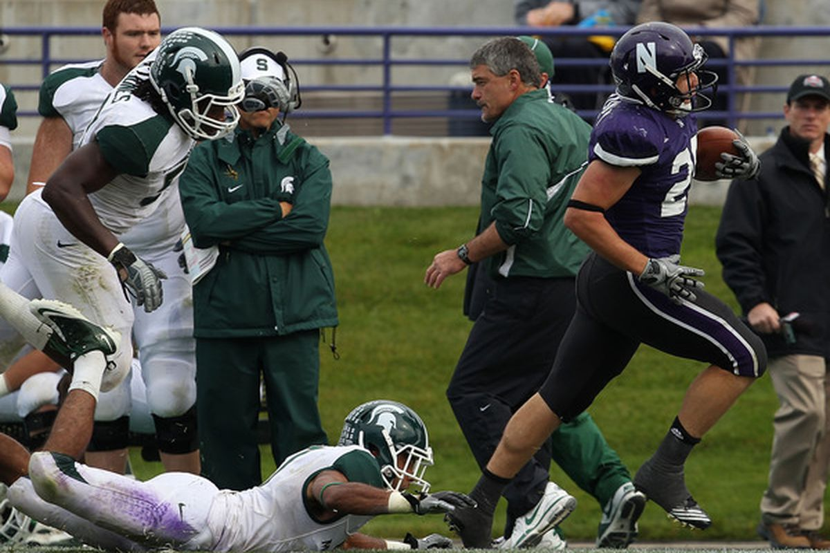 NU's best running back is out for the year. D'oh.