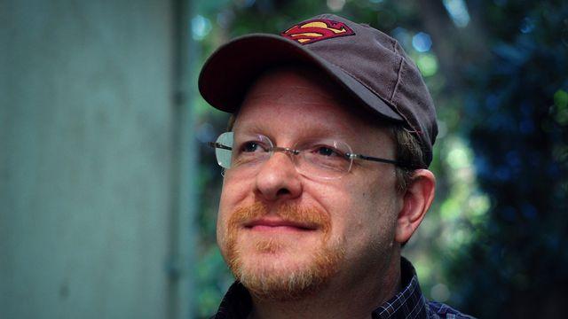 Comics writer Mark Waid