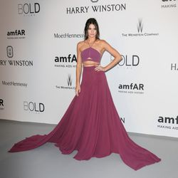 Kendall Jenner at amfAR's Cinema Against AIDS Gala in 2015.