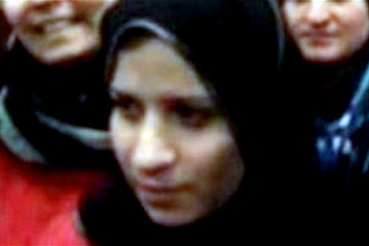 An alleged photo of Saja Hamid al-Dulaimi, ISIS leader Abu Bakr al-Baghadi's wife.
