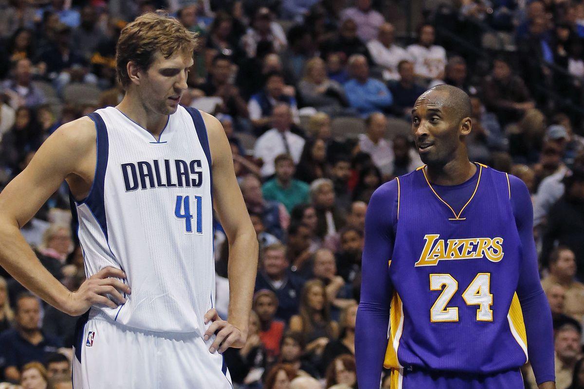 英雄惜英雄!職業生涯最值得留戀的對手是誰?德佬:Kobe與詹姆斯,喜歡他們的競爭性!-籃球圈