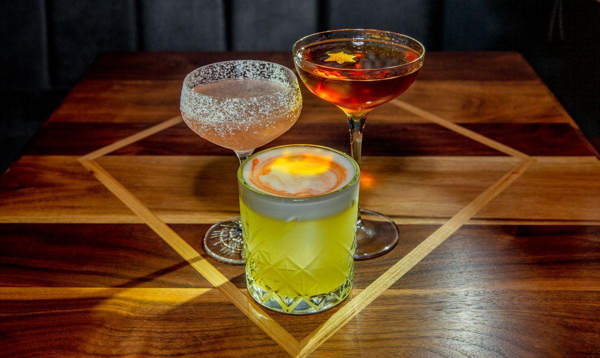 Maccabee Bar cocktails