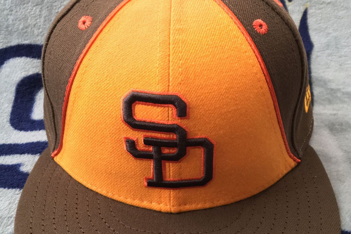 newest ed034 78ff4 ... closeout 2017 san diego padres turn back the clock 59fifty sd hat guy  76927 37363