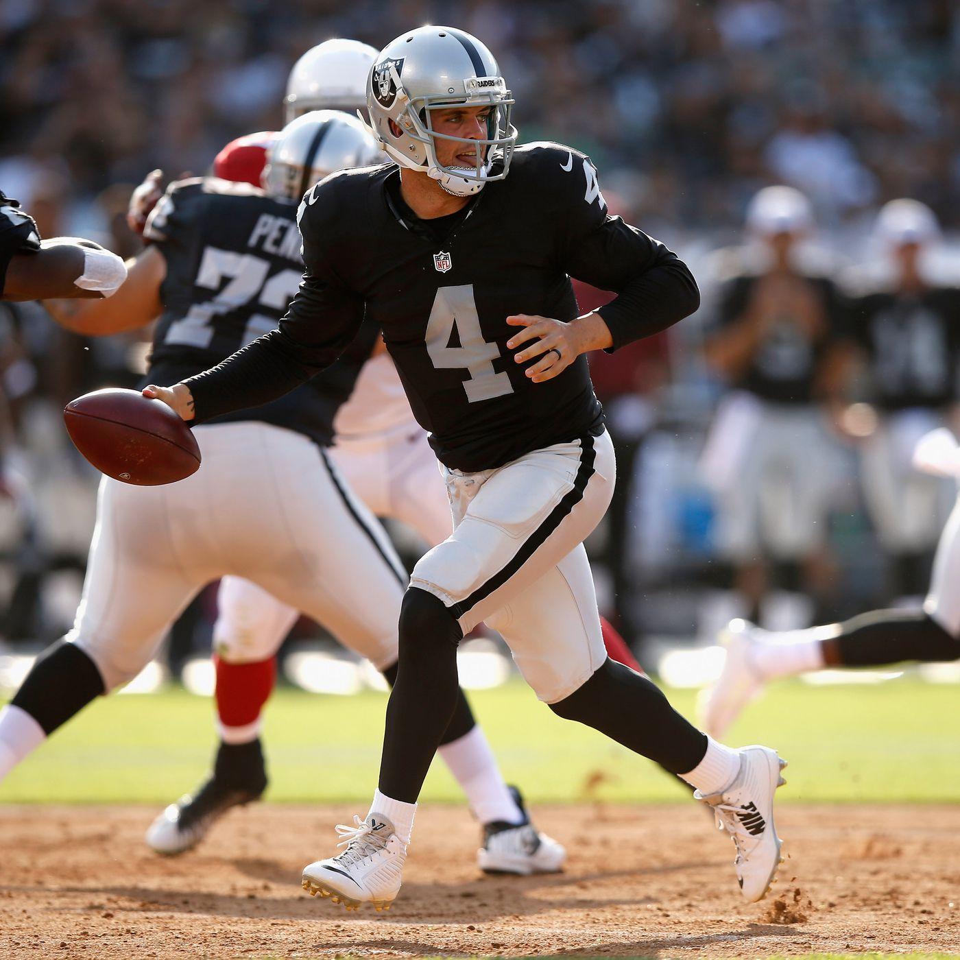 Raiders Release Depth Chart For 2015 Regular Season Opener Silver And Black Pride