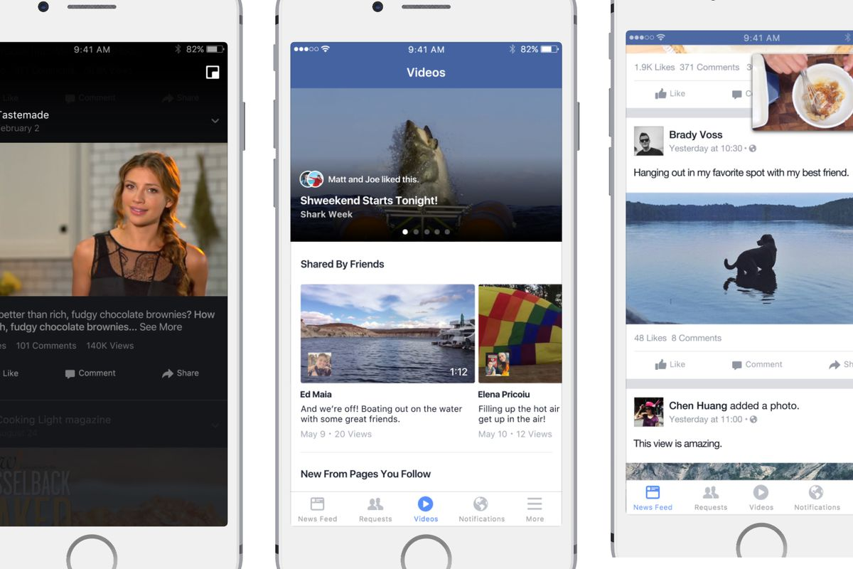 Facebook begins testing a feed just for video - The Verge