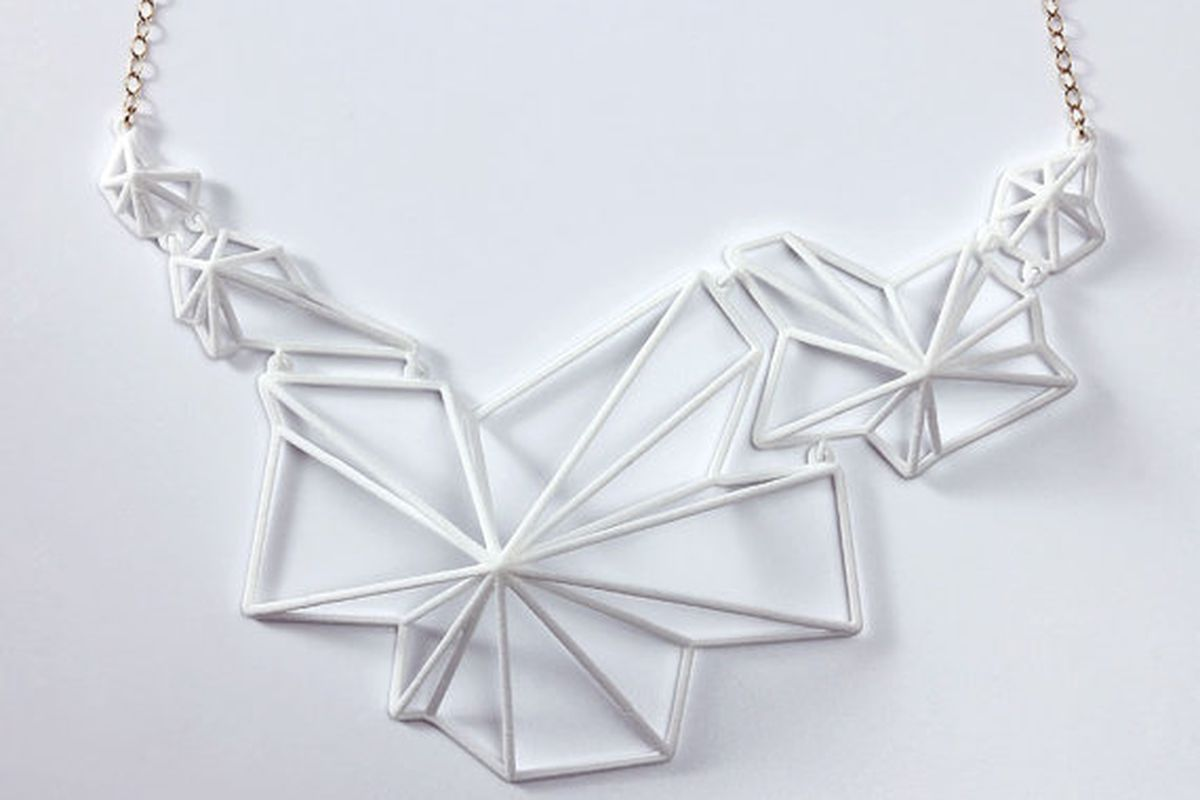 """Image via <a href=""""http://www.etsy.com/listing/115815559/andromeda-necklace-white?ref=v1_other_1"""">Summerized</a>"""