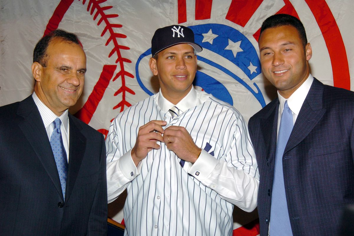 Alex Rodriguez Signs with The New York Yankees - Press Conference