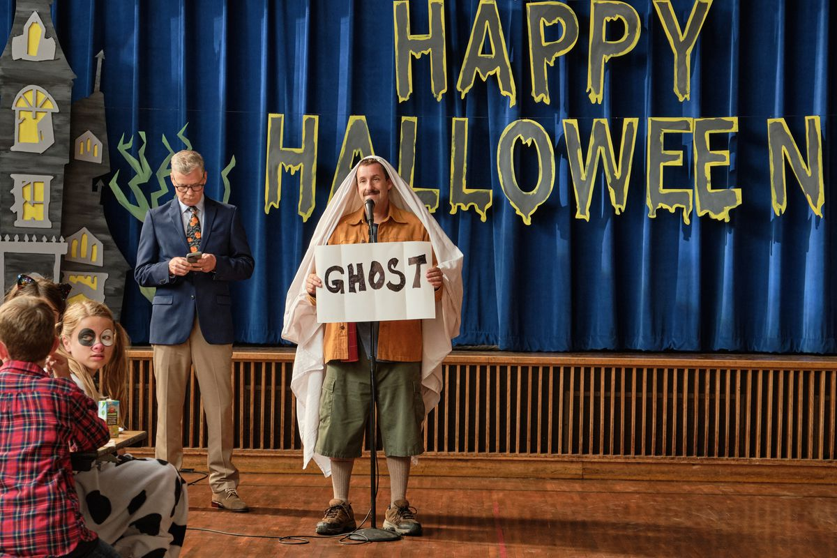 Hubie Halloween Review Adam Sandler Sinks To New Lows In Dismal Flick Chicago Sun Times