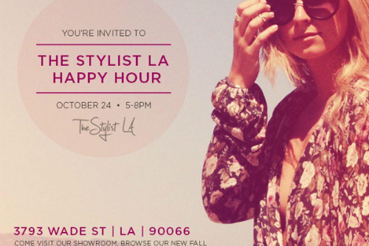 Flyer via Stylist LA