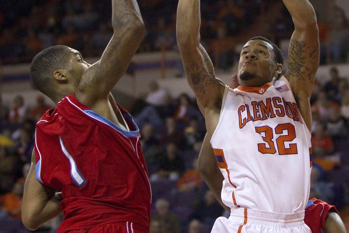 K.J. McDaniels will lead Clemson against South Carolina on Sunday.
