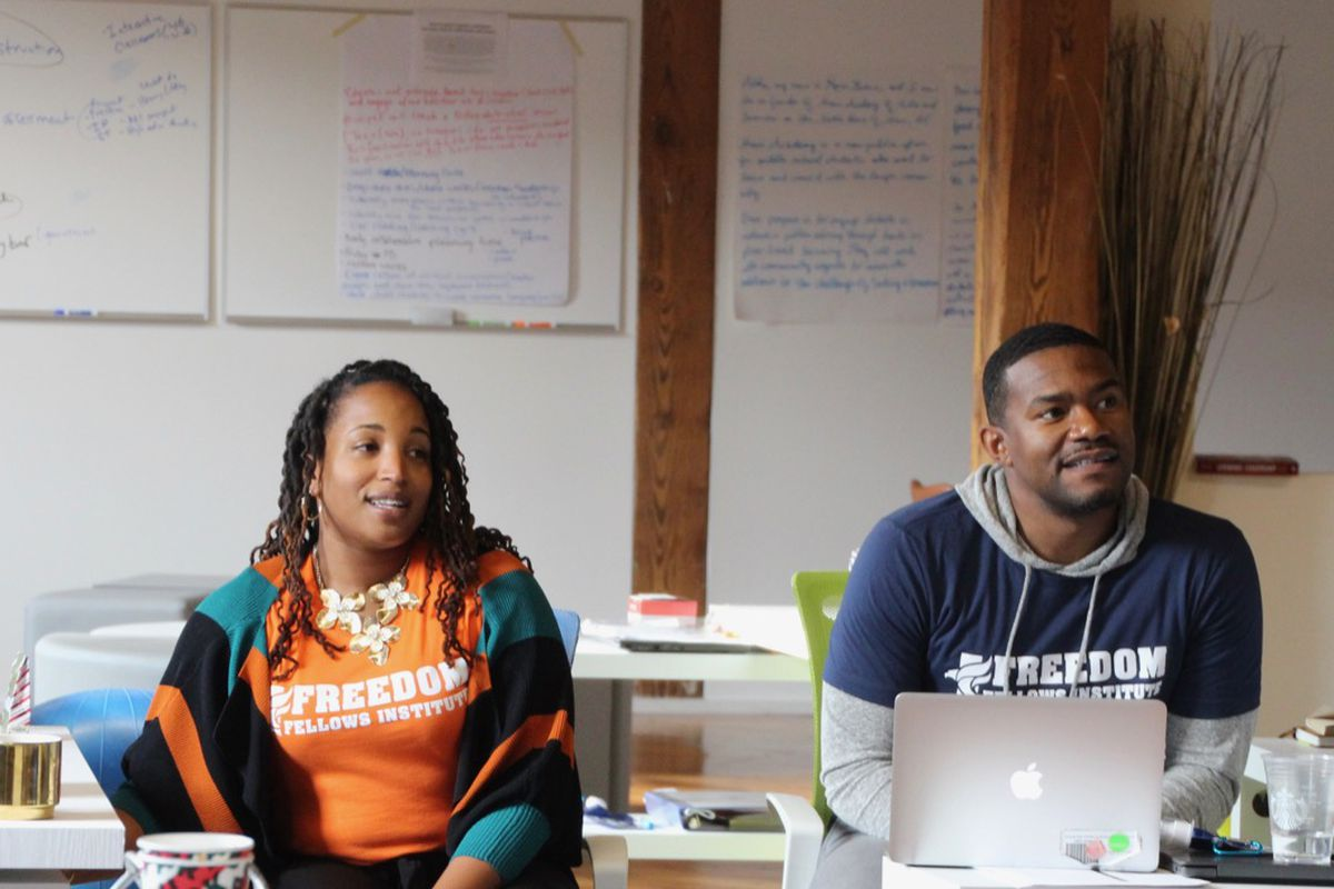 Fellows travel to Memphis almost two weeks out of every month to visit schools and train.