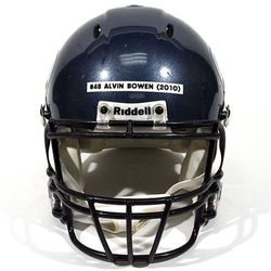 August 7 - 17, 2010 | Bowen's helmet reached $215 at auction