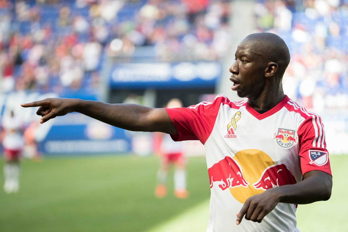 Bradley Wright-Phillips getting ready for the Impact