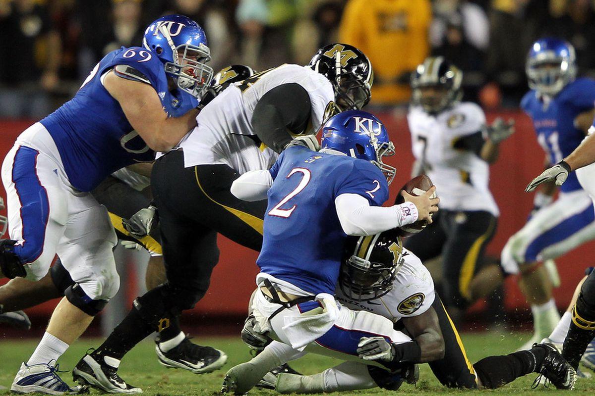 Kansas Jayhawk Football Roster Breakdown Interior Offensive Line