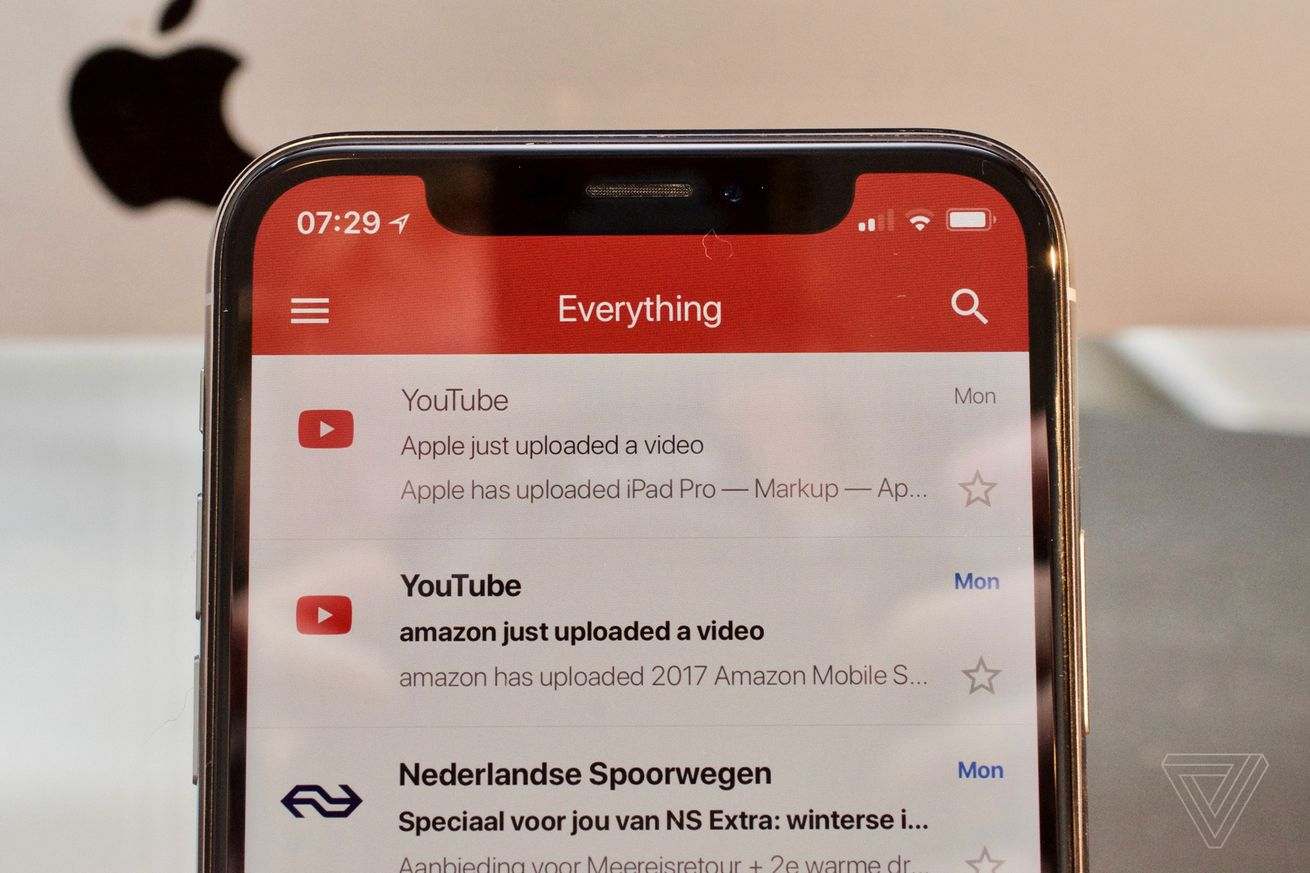 gmail now works properly on iphone x and supports third party accounts