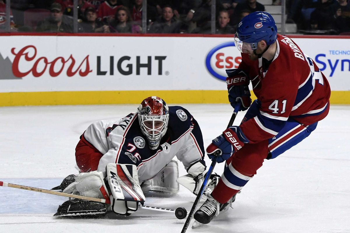 quality design 37ef0 d0388 Canadiens v Blue Jackets: Game thread, rosters, lines, and ...