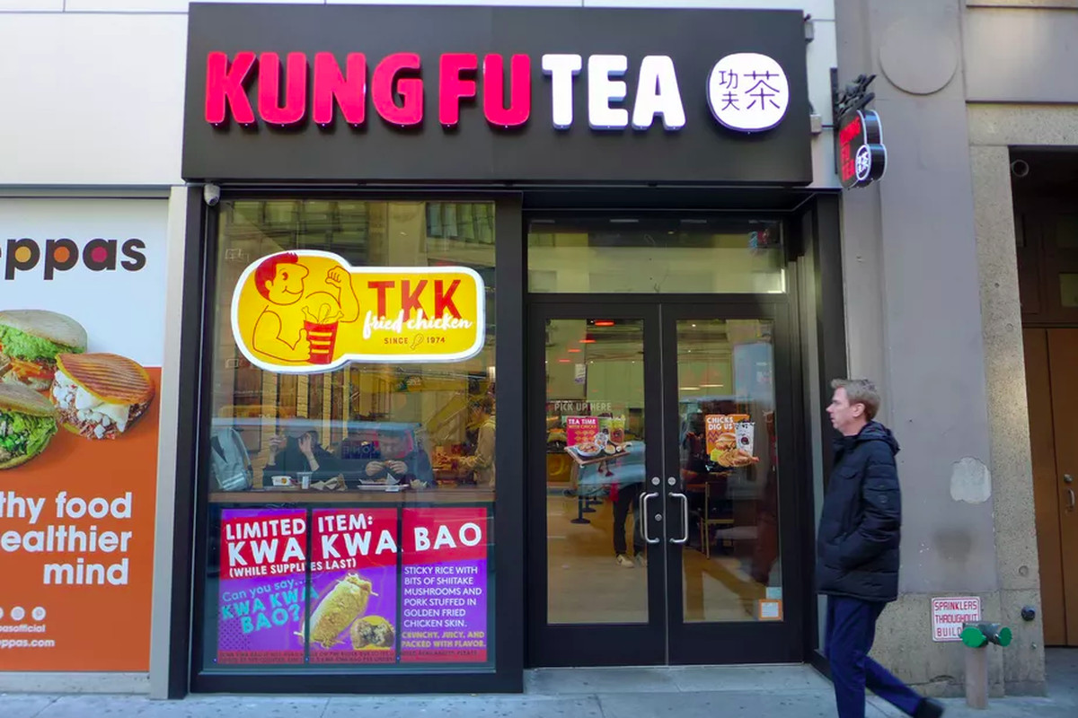 Tkk Fried Chicken And Kung Fu Tea Open In Quincy Eater Boston