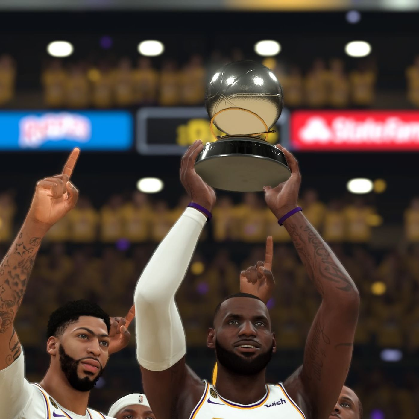 Sim Szn Lakers Move Onto Nba Finals With 98 88 Win Over Mavericks Silver Screen And Roll