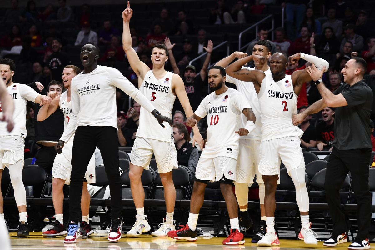 NCAA Basketball: San Diego State at Utah