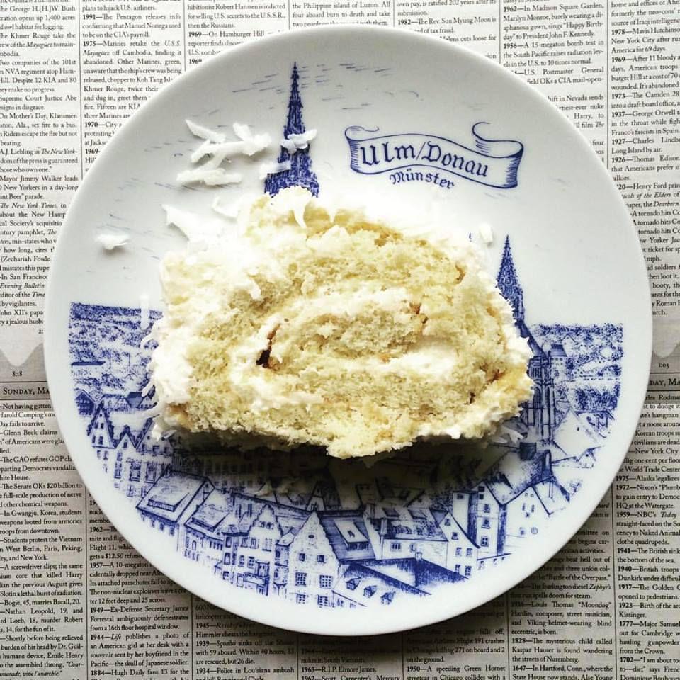 Coconut cream cake at Vonsolln