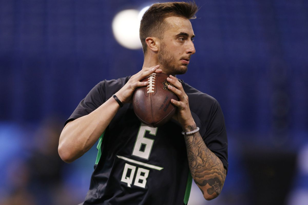 WKU Quarterback Brandon Doughty had one of the top performances of the NFL Combine's second day.