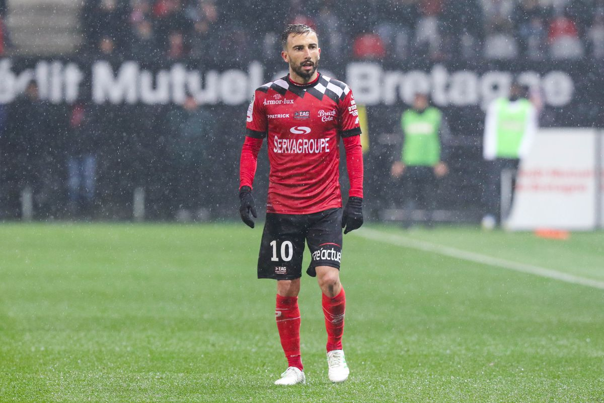 EA Guingamp v AS Monaco - Ligue 1