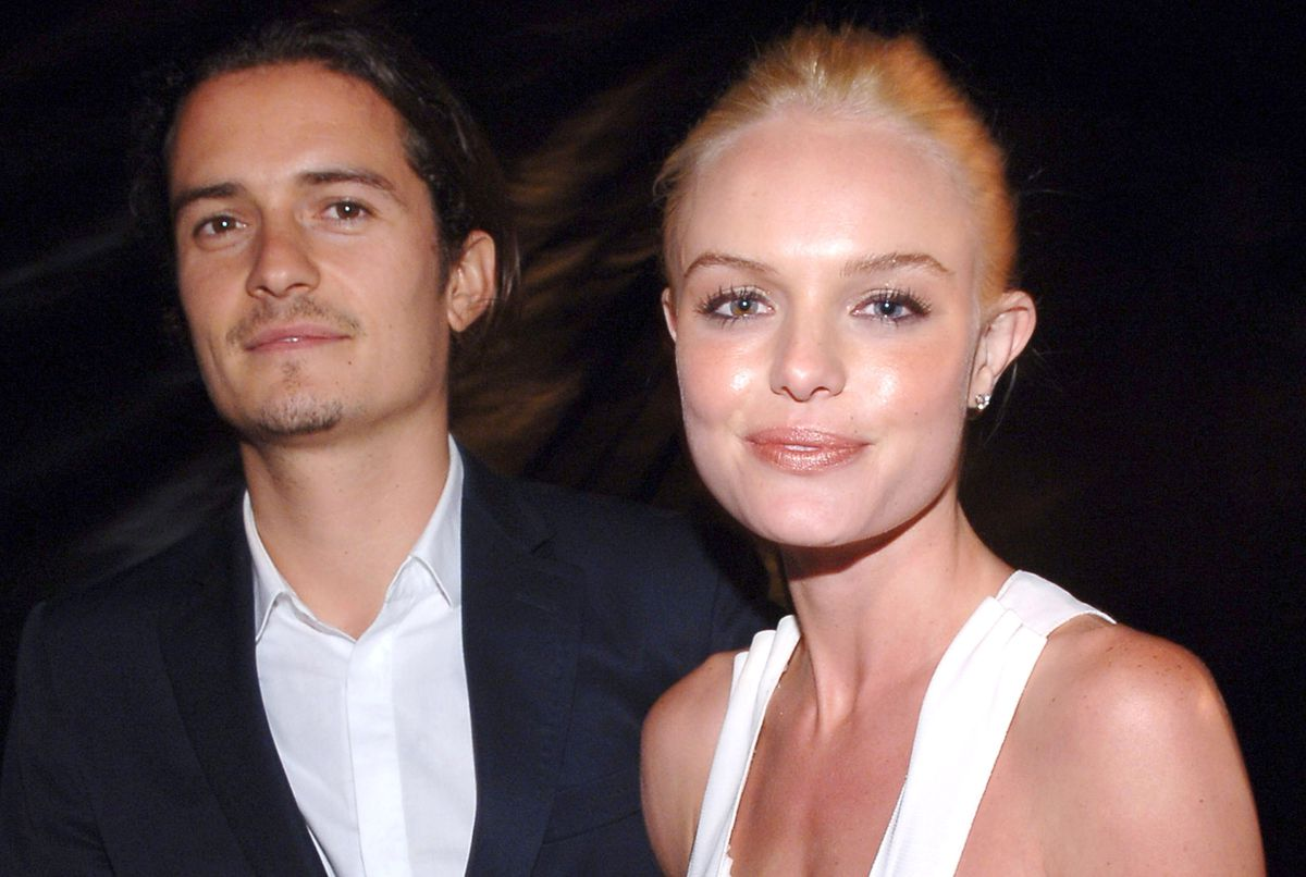 Orlando Bloom and Kate Bosworth in 2006.