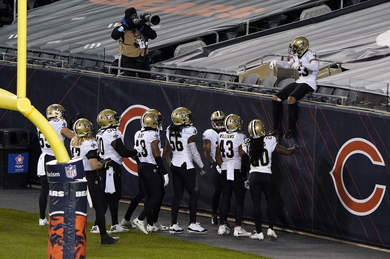 NFL: New Orleans Saints at Chicago Bears