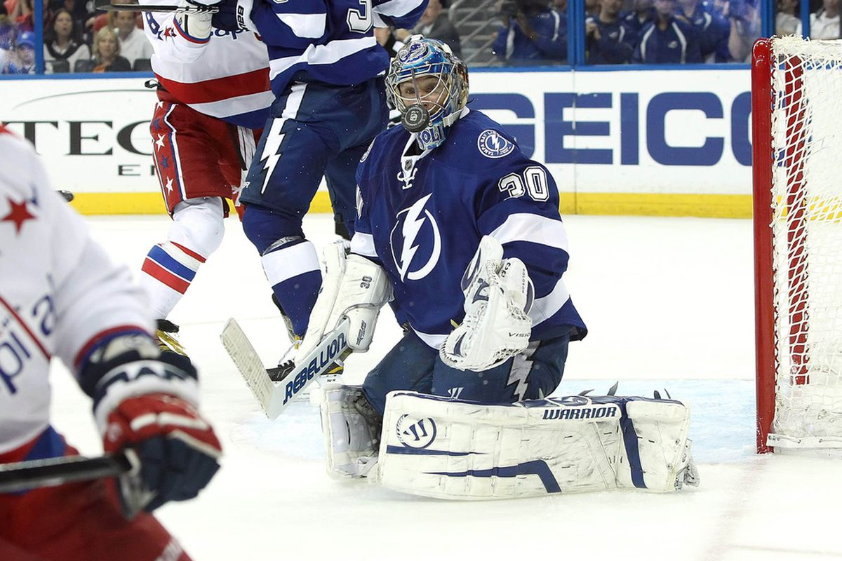 Goaltender Dwayne Roloson, who played one of his best games of the 2011-12 season against the Washington Capitals on April 2nd, 2012, struggled for much of the 2011-12 season for the Lightning.