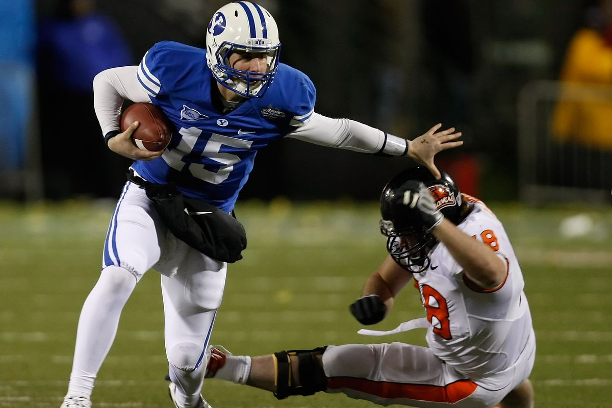 Max Hall will always be remembered as one of the great quarterbacks at BYU.