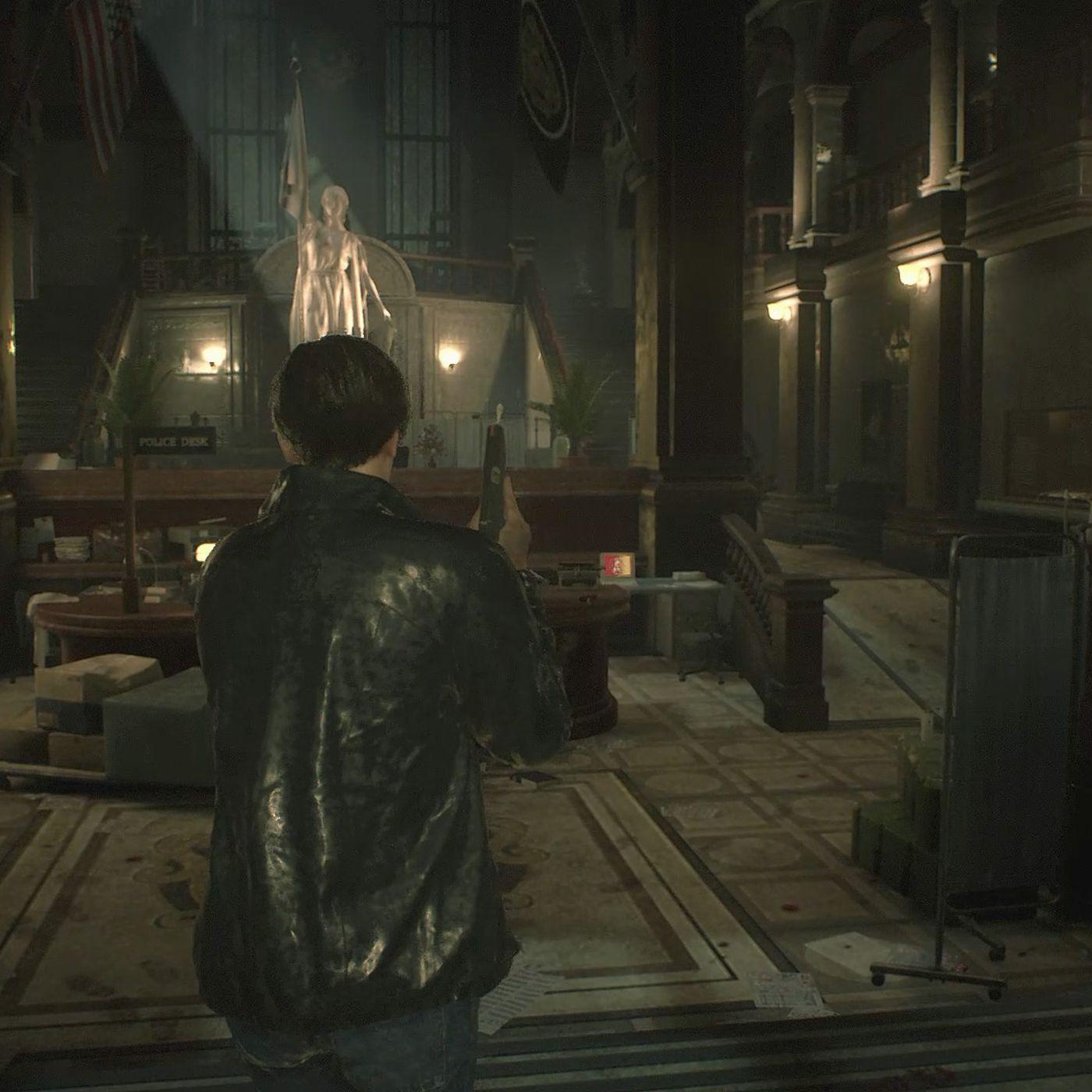 Resident Evil 2 Police Station Walkthough Investigate The East