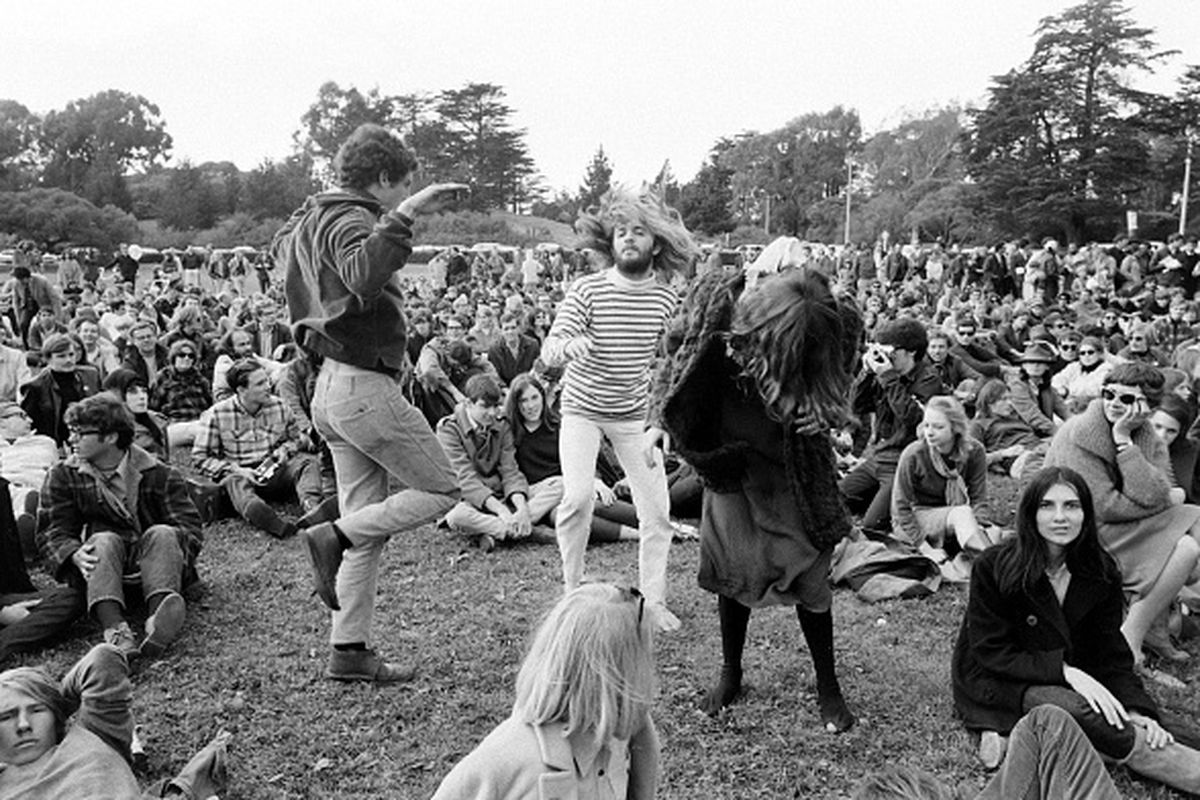An Anti War Demonstration Staged By The Spring Mobilization Committee To End In Vietnam At Golden Gate Parks Kezar Stadium On April 15 1967