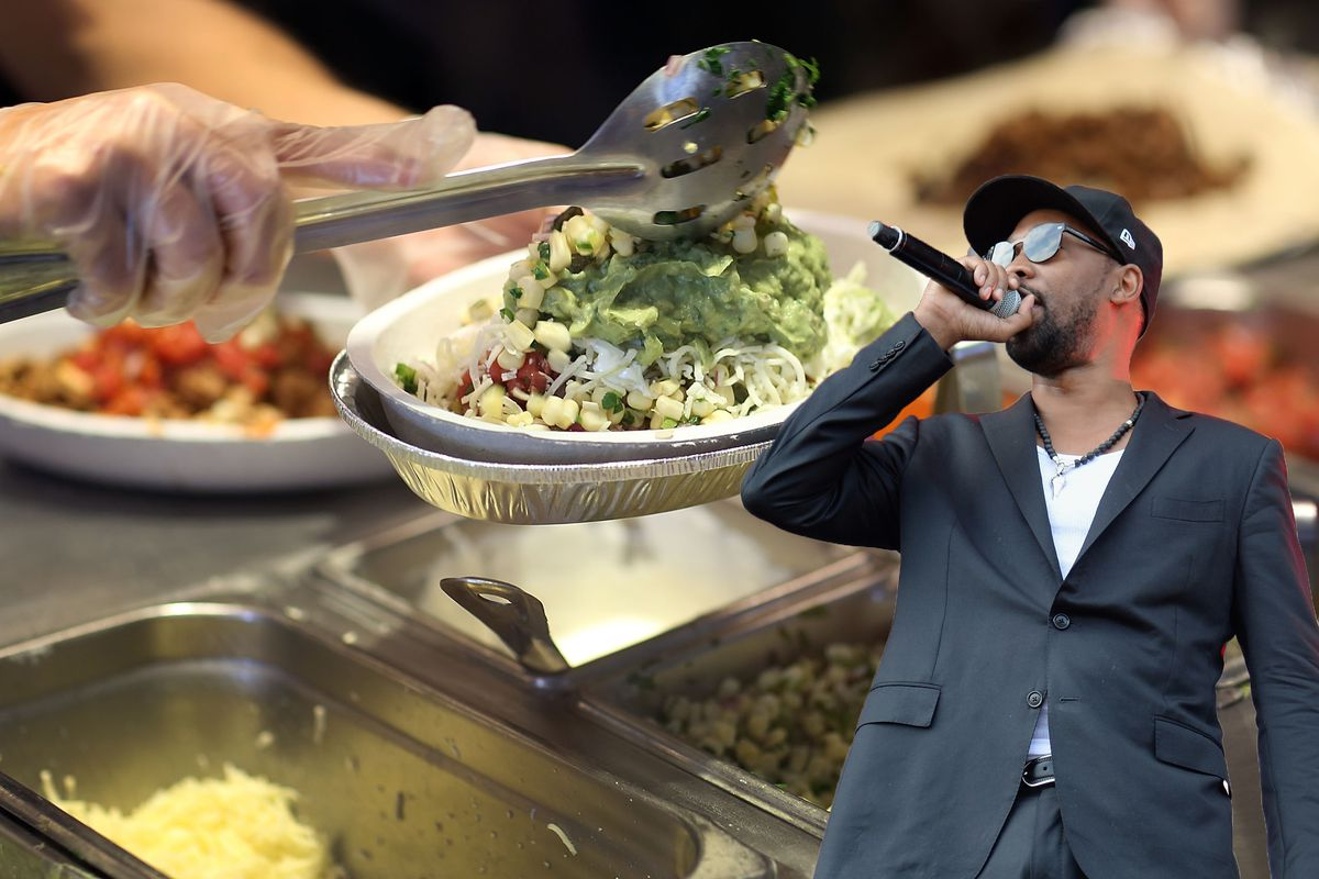 Chipotle recruits wu tang member for latest marketing stunt eater chipotle photo by joe raedlegetty images rza photo by kevin mazurgetty pooptronica