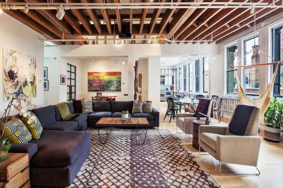 Manhattan loft with five skylights seeks curbed ny for Loft in manhattan for sale