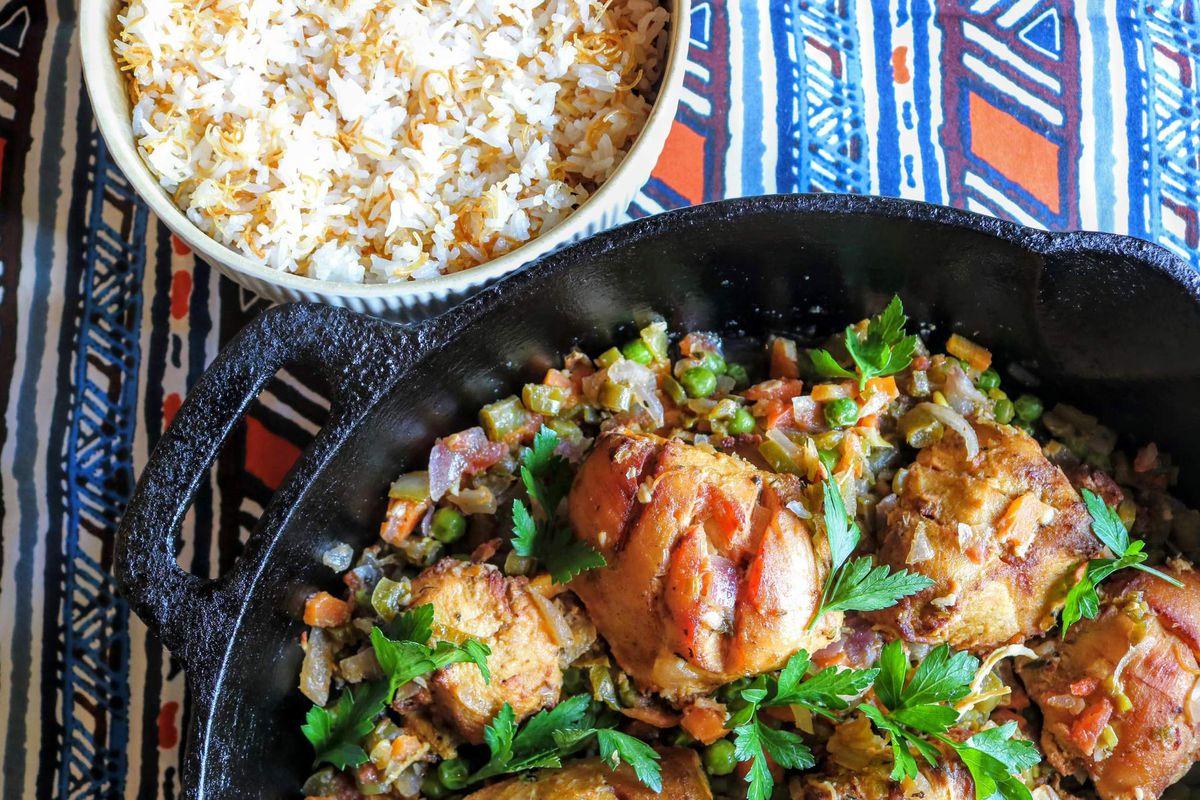 Foodhini's Ivorian chicken fricassee