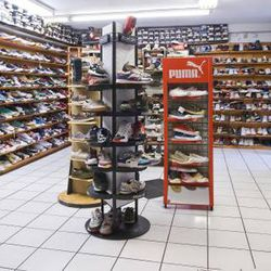 """Finally, head a few blocks north to <a href=""""http://la.racked.com/archives/2014/04/24/15_of_las_best_shoe_shops_from_sandals_to_skyscrapers.php"""">must-shop</a> kicks stop <a href=""""http://www.sportiela.com"""">Sportie LA</a> (7753 Melrose Avenue). Kicks addict"""